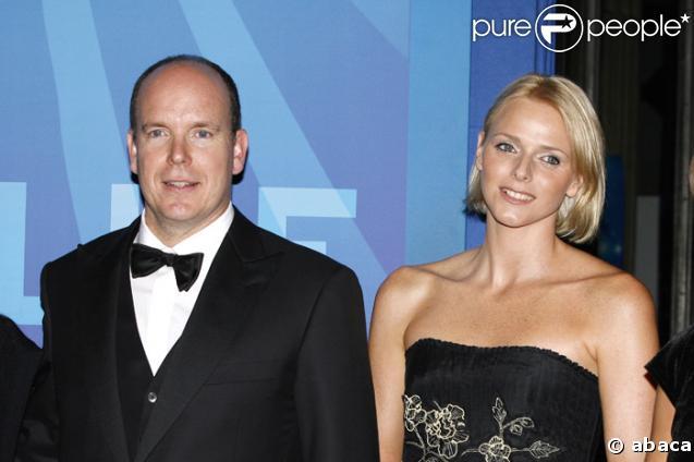 Le Prince Albert de Monaco et Charlene Wittstock
