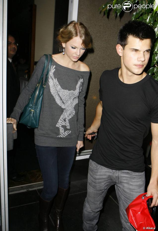 Taylor Swift et Taylor Lautner