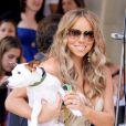 Mariah Carey et son chien Jack