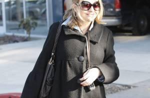 Rebecca Gayheart enceinte, Courteney Cox et sa fille, Usher et le père Noël... Les stars aussi font le shopping de Noël !