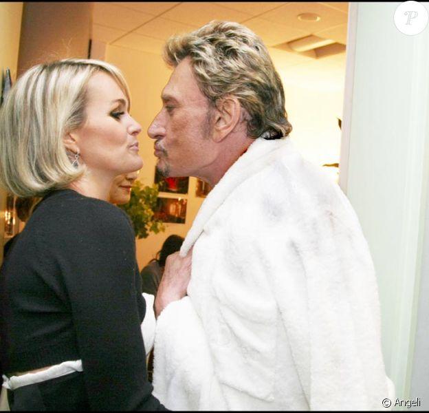 Photos exclusives : Johnny et Laeticia au Stade de France avant l'entrée en scéne !