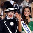 Madame de Fontenay avec la Miss France 2010 Malika Menard