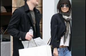 Nicole Richie : Quand elle est avec son homme... c'est sourire affiché !