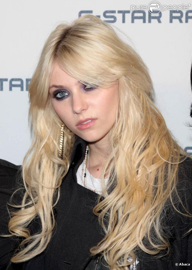 La jolie actrice américaine Taylor Momsen
