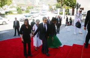 Les photos du voyage officiel de Nicolas Sarkozy et Carla Bruni : amoureux jusqu'au bout du monde...