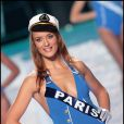 L'ex Miss Paris Kelly Bochenko, le soir de l'élection  de Miss france 2010