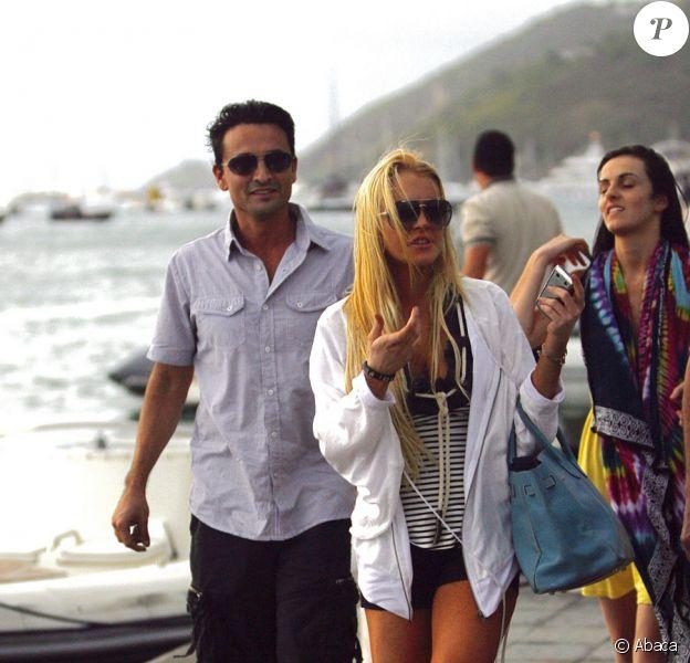 Lindsay Lohan profite de Saint-Barthélémy le 31 décembre 2009 avec sa soeur