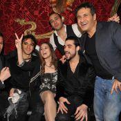 Mozart l'Opéra Rock : Merwan Rim et Laurent Solal vous présentent leurs compagnes... du bébé dans l'air ?