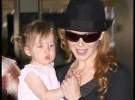 Nicole Kidman : Elle a beau être une super maman, sa petite Sunday Rose... ne sourit toujours pas !