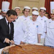 Nicolas Sarkozy a tiré les rois à l'Elysée... Mais qui a eu la fève ?