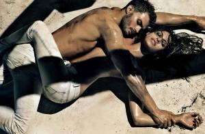 La torride Eva Mendes... tellement sexy pour Calvin Klein !
