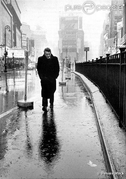 James Dean à Times Square à New York