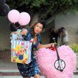 Jessica Biel sur le tournage de Valentine's Day