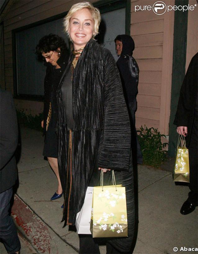 Sharon Stone a fêté son anniversaire