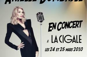 Arielle Dombasle met le paquet pour ses concerts et défilera pour... Jean-Paul Gaultier !