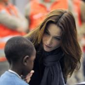 Carla Bruni : La Première dame a accueilli les enfants haïtiens adoptés par des familles françaises... (réactualisé)