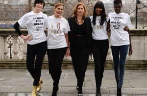 Naomi Campbell s'entoure de beautés telles que Yasmin Le Bon... pour un rendez-vous bien particulier !