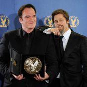 Brad Pitt, Anna Kendrick, Jodie Foster et Zoe Saldana entourent... Cameron, Tarantino, Bigelow et leurs prix !