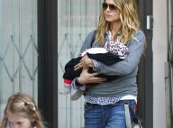 Heidi Klum : Elle ne lâche plus sa petite Lou et retrouve son look au top !