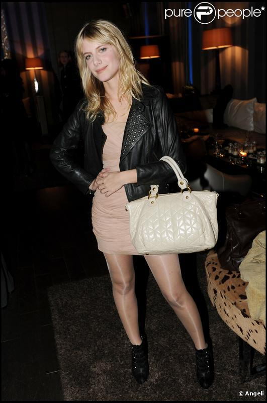 Mélanie Laurent à la soirée Nosylis le 4 février 2010
