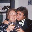 François Valéry et sa mère, Mathilde, décédée mardi 2 février 2010 !