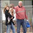 Julia Roberts, son petit Henry et son beau-père