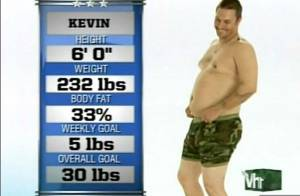 Kevin Federline : 35 kilos de trop, il tente de mincir... sous l'oeil des caméras !
