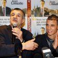 Jean Lassalle a présenté le 10 février 2010 son nouvel allié pour les régionales en Aquitaine : Marouane Chamakh