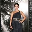 La belle Emily Blunt à l'occasion de l'avant-première de  Wolfman , dans l'enceinte de l'ArcLight Theatre d'Hollywood, à Los Angeles, le 9 février 2010.