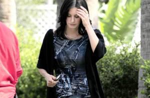 Courteney Cox : De retour au boulot, elle semble toute... tristounette !