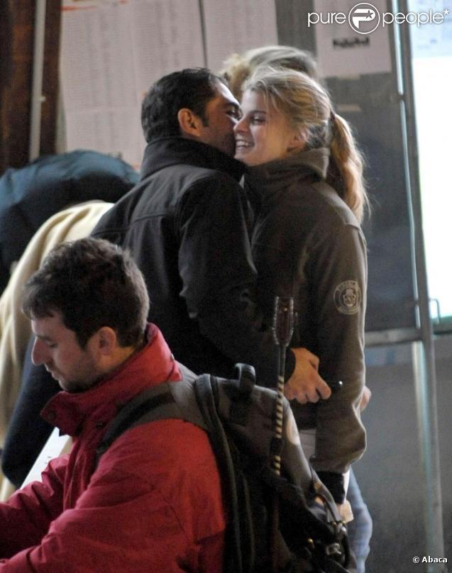 Athina Onassis et son époux Doda, au jumping de Nantes. Janvier 2010