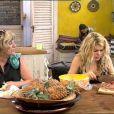 Cuisine pour Kelly et Claudette