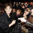 Marion Cotillard à la première de Nine, à Paris. 18/02/2010