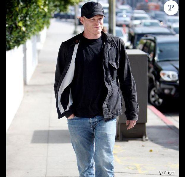 Michael C. Hall dans les rues de Hollywood (18 février 2010)