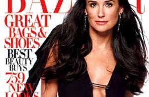 Demi Moore livre de petits secrets de famille au magazine Harper's Bazaar...