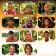 Les tentateurs de la saison 6 de L'île de La Tentation sur TF1. Benjamin Khalifa en haut