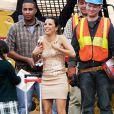 Eva Longoria a fait le show sur le plateau de Desperate Housewives le 1/03/10