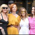 Kim Cattrall et ses acolytes Cynthia Nixon, Sarah Jessica Parker et Kristin Davis