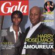 Harry Roselmack et sa femme Chrislaine en couverture de GALA