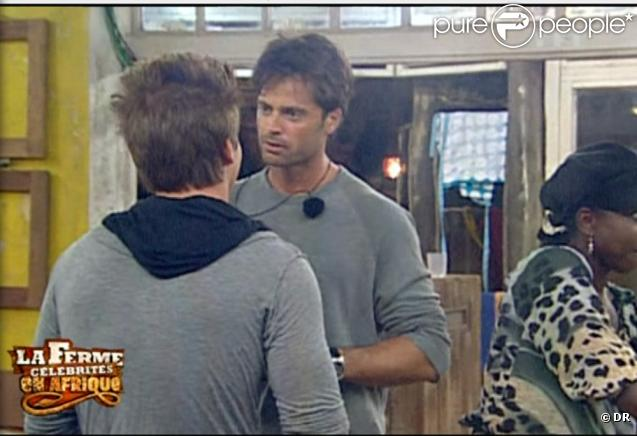 David trouve inadmissible que Mickaël se permette de mal parler à Claudette : il devient enragé !