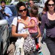 Halle Berry et sa fillette Nahla étaient les princesses du parc à Beverly Hills. Le 5 mars 2010