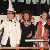 Sophia Loren : A 75 ans, un magnifique baptême sous le regard de Nana Mouskouri et Eros Ramazzotti !