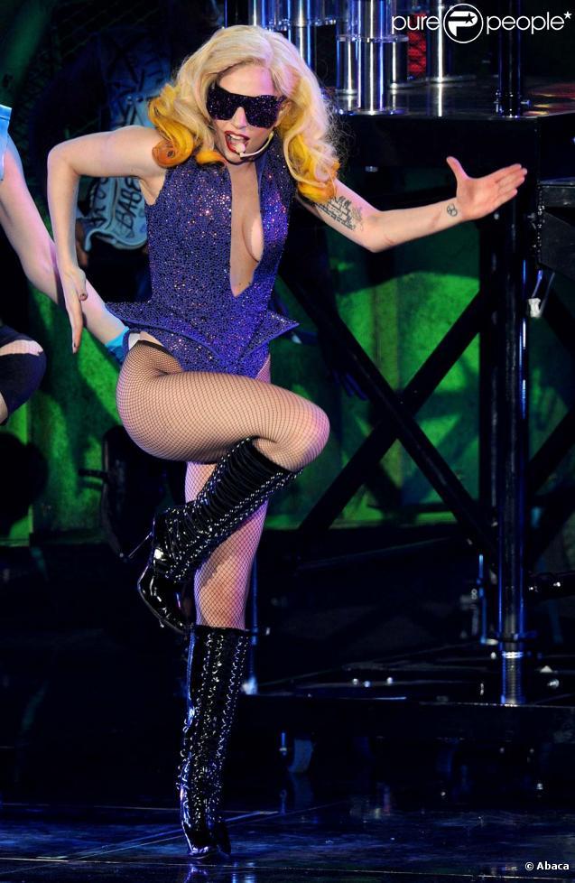 Lady Gaga en concert à Londres, le 3 mars 2010 !