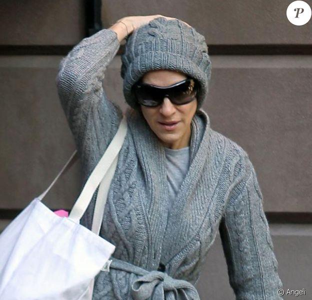 Sarah Jessica Parker à New York, le 9 mars 2010