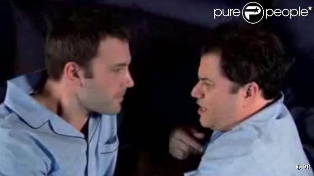 Ben Affleck et Jimmy Kimmel dans le sketch,  Handsome Men's Club , mars 2010 !