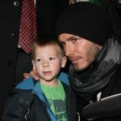 David Beckham : Le retour du héros se transforme en cauchemar, mais les bambins sont là pour le consoler !