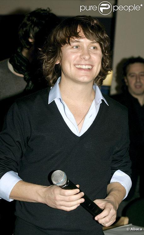 Mark Owen du groupe anglais Take That en novembre 2006