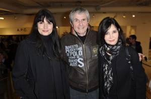 Zoé Félix et Clémence Poésy face à Claude Lelouch... entouré des femmes qui ont marqué sa vie !
