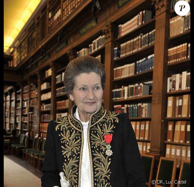 Simone Veil est désormais une immortelle de l'Académie française