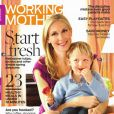 Kelly Rutherford et son fils Hermès en couverture de  Working Mother